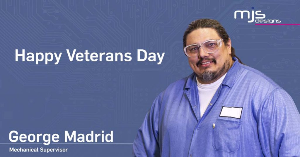 George Madrid Veterans Day