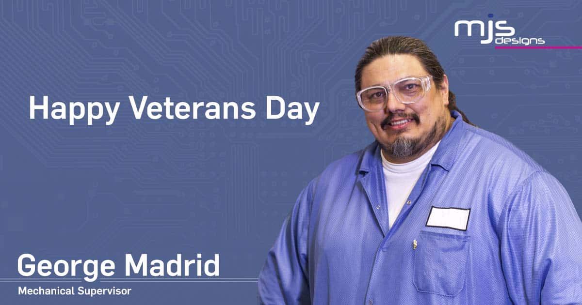 George Madrid Veterans Day