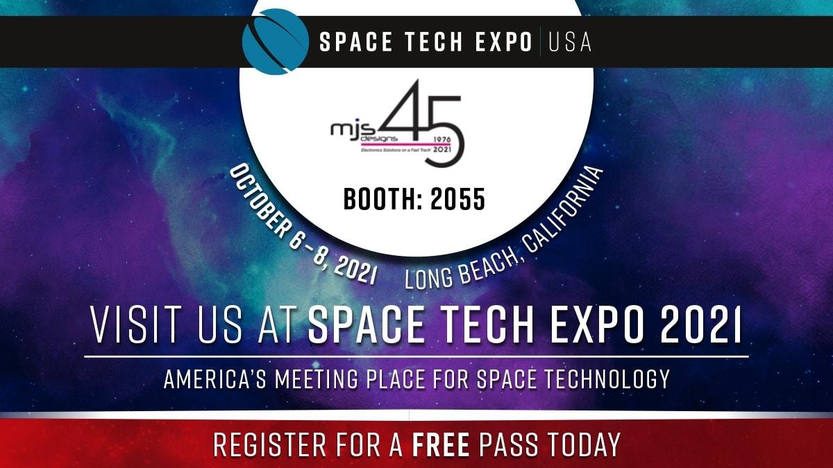 Space Tech Expo USA October 6 - October 8, 2021 Long Beach, California